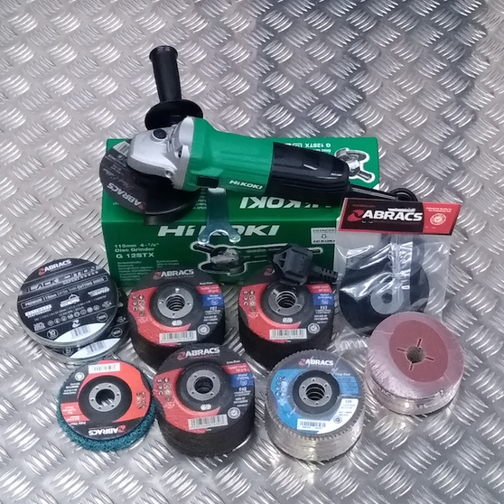 Hi Koki (Hitachi Power Tools)  & ABRACS Multi Offer 110V or 230V (LIST £)