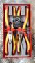 INSULATED PLIERS SET 4 PCS