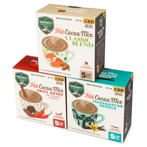 Hot Cocoa Mix with CBD - Bundle Pack