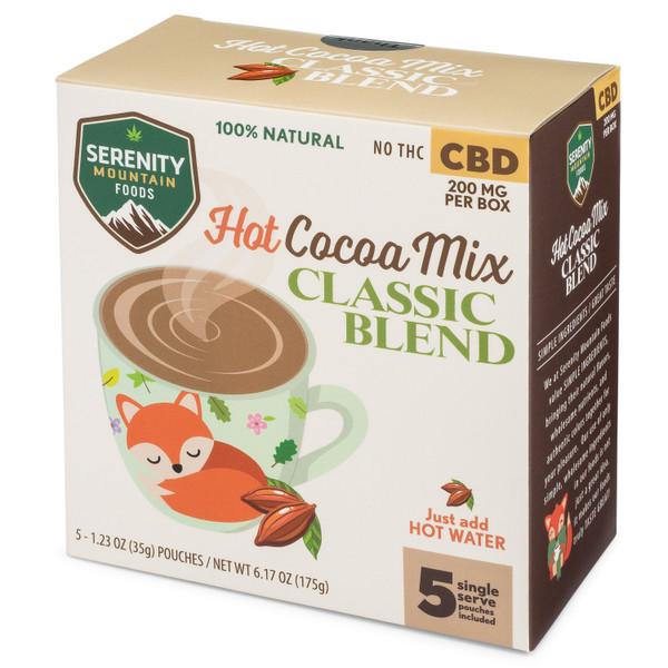 CBD Hot Cocoa Mix - Classic Blend - CBD Hot Chocolate
