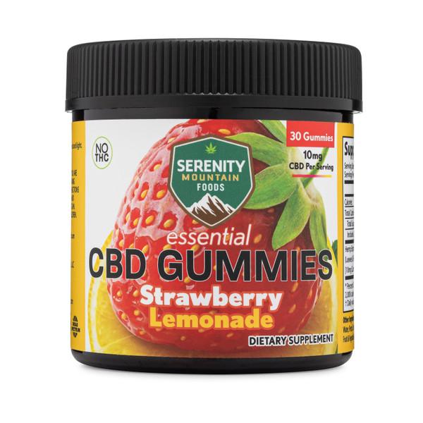 CBD Gummies -Strawberry Lemonade