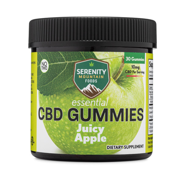 CBD Gummies -Juicy Apple