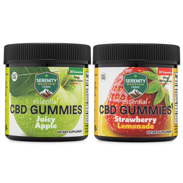 CBD Gummies -Juicy Apple & Strawberry Lemonade