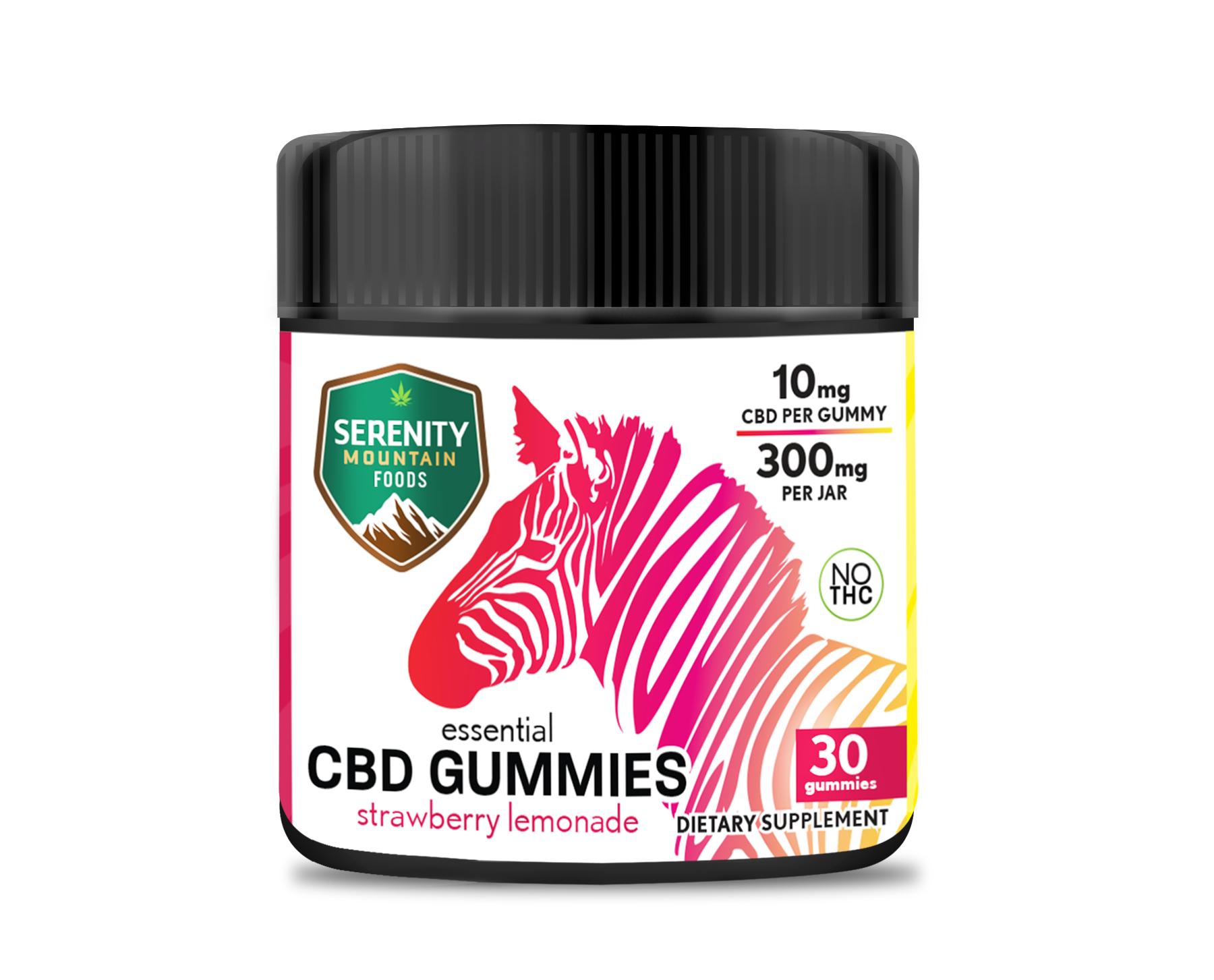 CBD Gummies Strawberry Lemonade