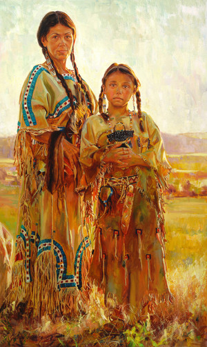 Mother's Pride Giclée Print