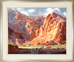 Snow Canyon Shadows Original (SOLD)