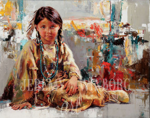 Native Beauty Giclée Print
