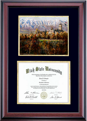 Diploma Size Back to School Giclée Print