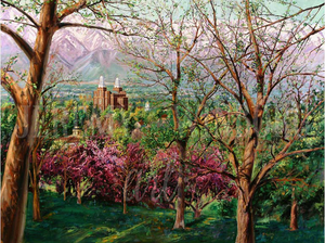 View From College Hill Giclée Print Studio Sale