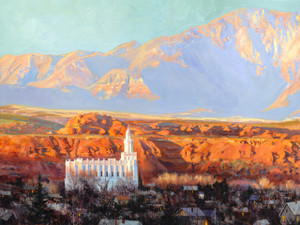 Zion's Light Medium Giclée Print Studio Sale