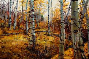 Autumn Aspens Giclée Print