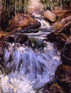 Falls Creek Giclée Print Studio Sale