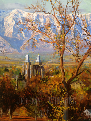 Cache Valley Autumn Giclée Print