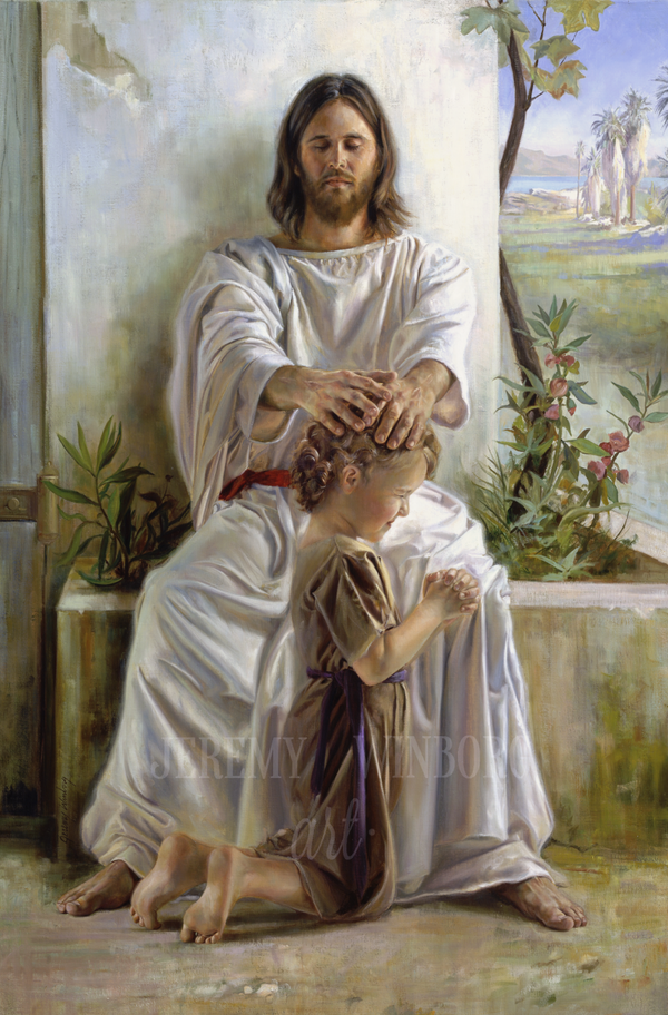 He Blessed Them One by One Giclée Print