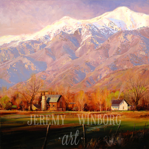 Wasatch Homestead Giclée Print