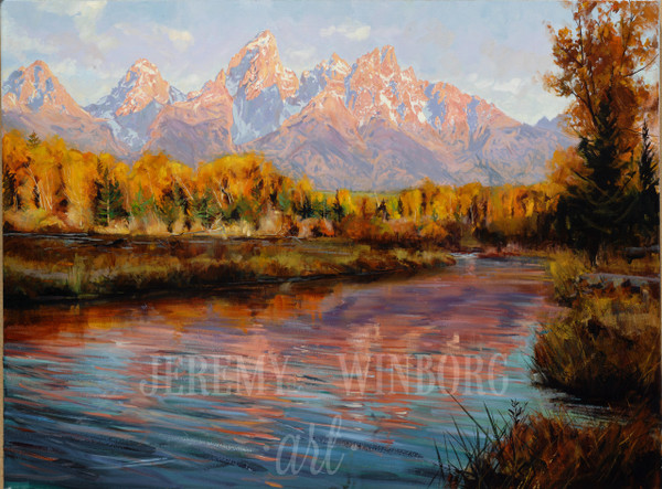 Grand Teton Autumn Giclée Print