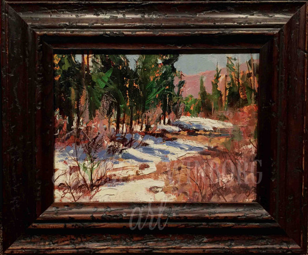 Early Spring Original Oil Study (SOLD)