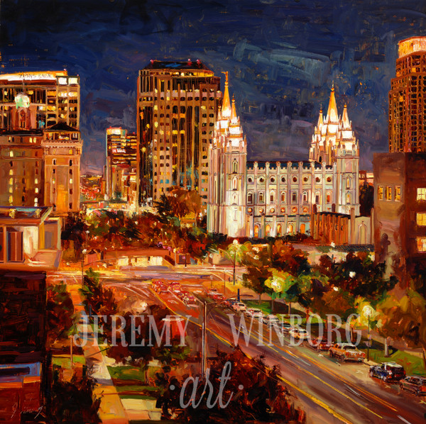 City Lights Giclée Print