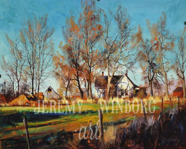 Autumn House Original (SOLD)