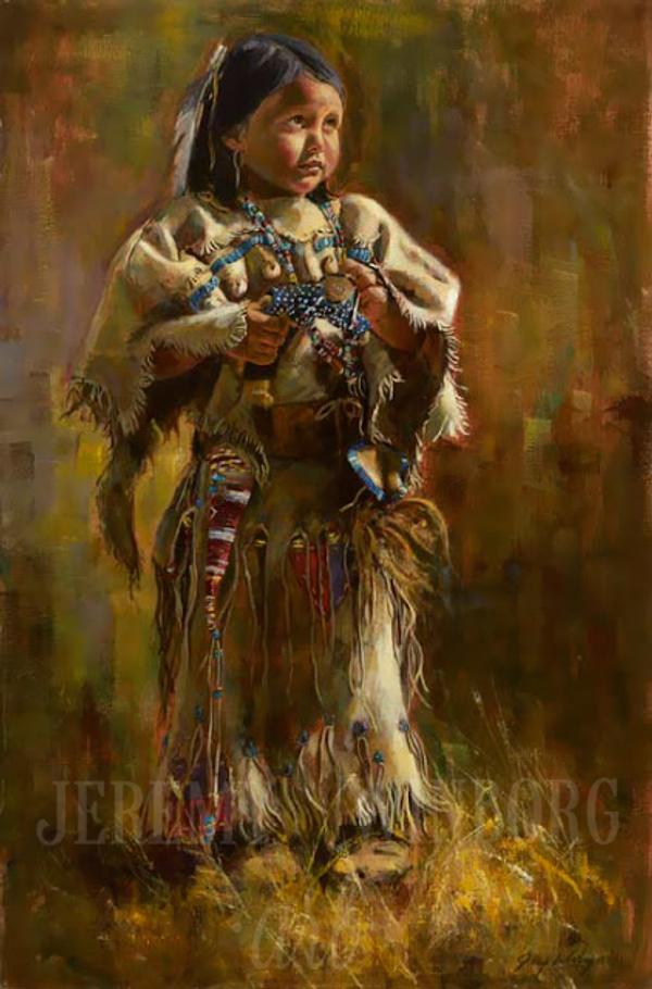 Pride of the Shoshones Original (SOLD)