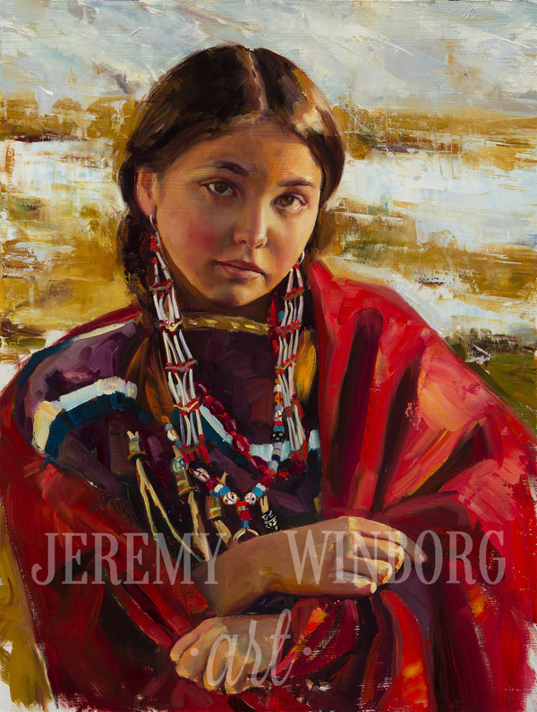 Indian Winter Original Study (SOLD)