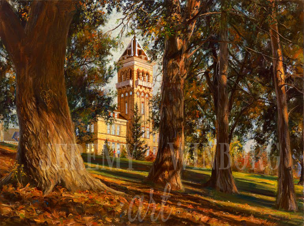 Old Main Memories Giclée Print
