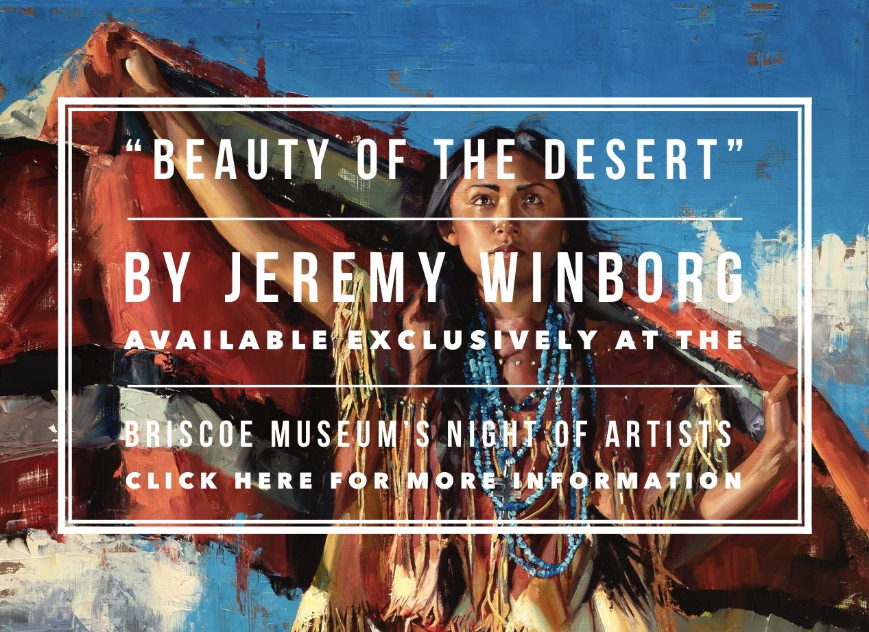 Jeremy Winborg Briscoe Night of Artists