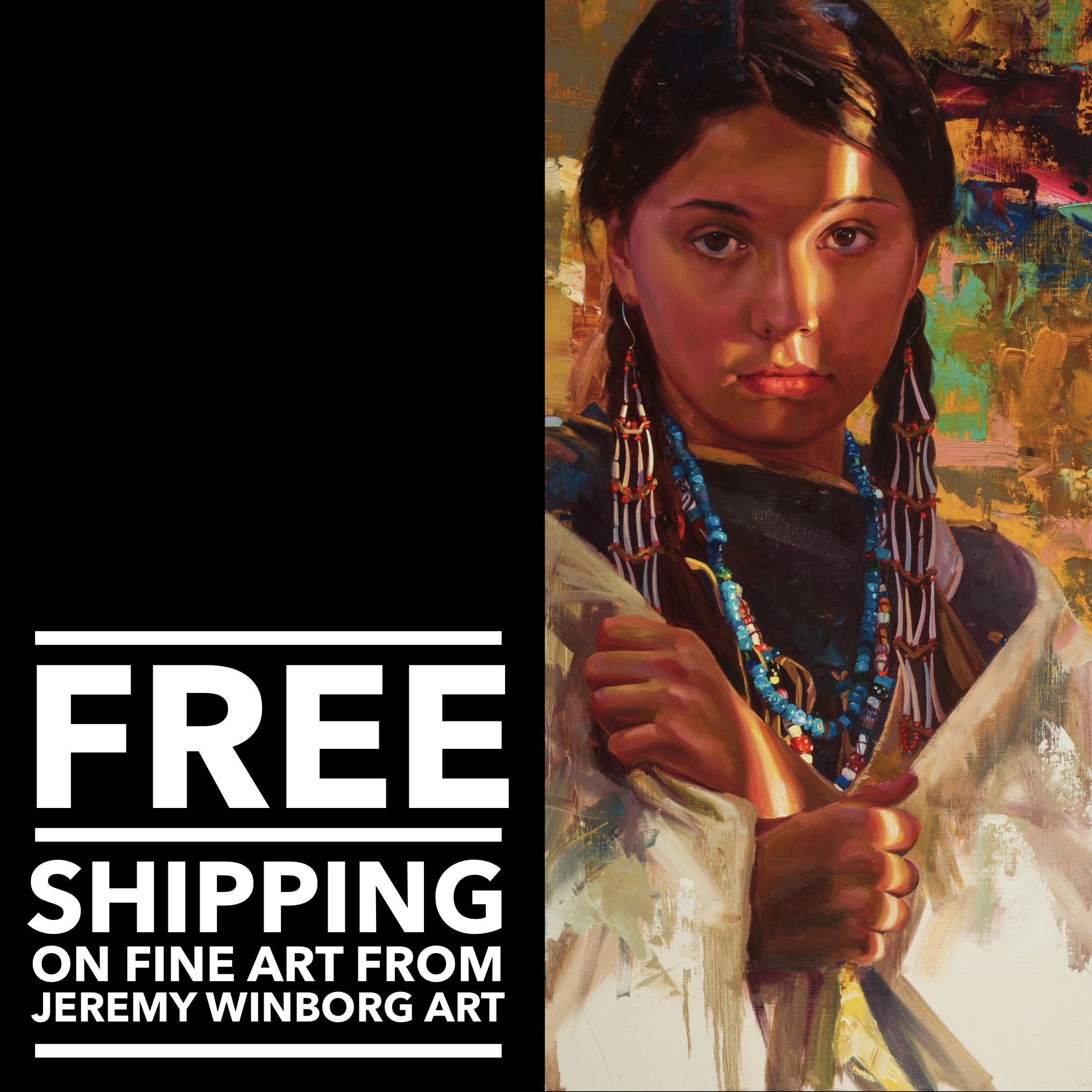 Free Shipping at Jeremy Winborg Art