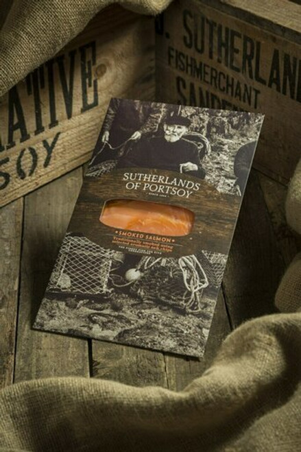 200G Gin Infused D-Sliced Smoked Salmon Pack