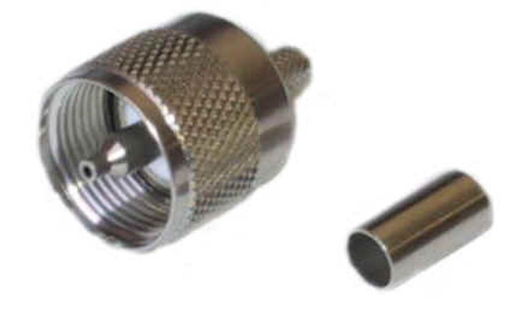 UHF Plug Crimp RG58