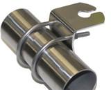 Vertical Bull Bar Bracket (Nickle Plated Steel)