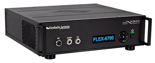 The FLEX-6700™ is for the most demanding amateur radio operator who desires the ultimate on-air experience. With dual spectral capture units (SCUs), the FLEX-6700 allows multiple active antennas providing reception and unprecedented spectrum visibility across up to eight panadapters and waterfalls. The FLEX-6700's dual-stage RF preamplifiers enhance weak signal reception up through six meter and two meter bands*. Total flexibility and the highest performance sets the FLEX-6700 apart from other radios.  *Two meter transmit power limited to -15 to +7 dBm; external power amplifier not included.