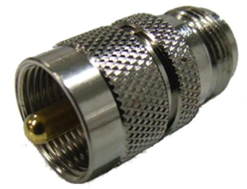 N Socket to UHF Plug Adaptor