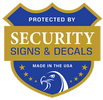 Security Signs & Decals by Custom Graphics Group