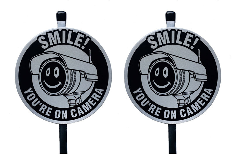 Smile You're On Camera Security Sign