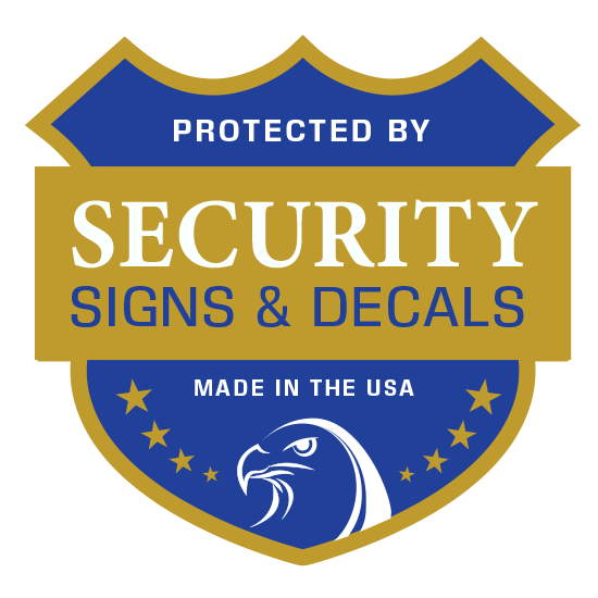Security Signs & Decals