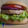 Lean Turkey Burger with Sweet Potato salad