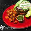 Vegetarian Burger in Iceberg cup