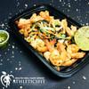 Fresh cabbage mix grilled Shrimp salad