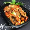 Basil Cherry tomato  Lean Flank Steak in box