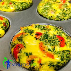 Organic Veggie eggs muffins