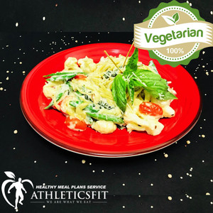 Organic Spinach vegetable pasta