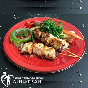 Deliciously grilled Chicken kebabs
