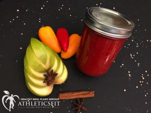 Organic Bell pepper and Green Apple jam