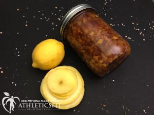 Organic Yellow squash and Lemon jam