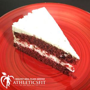 Protein Red velvet cake