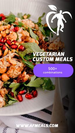 Vegetarian Custom Meals