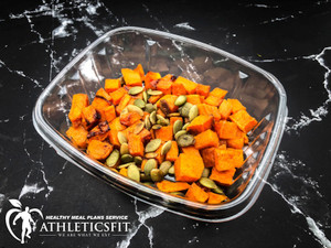 Roasted Pumpkin and Curry seeds