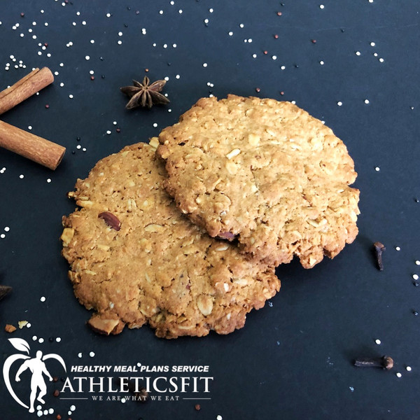 Organic Protein Almond cookies by Athleticsfit