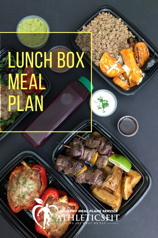 Healthy Lunch Box - Weekly Plan